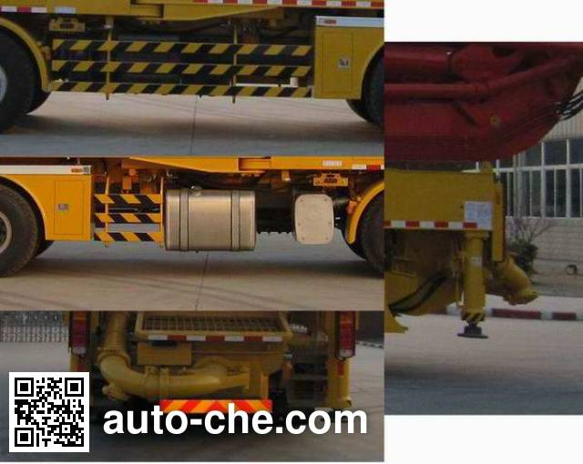 XCMG XZJ5434THB concrete pump truck