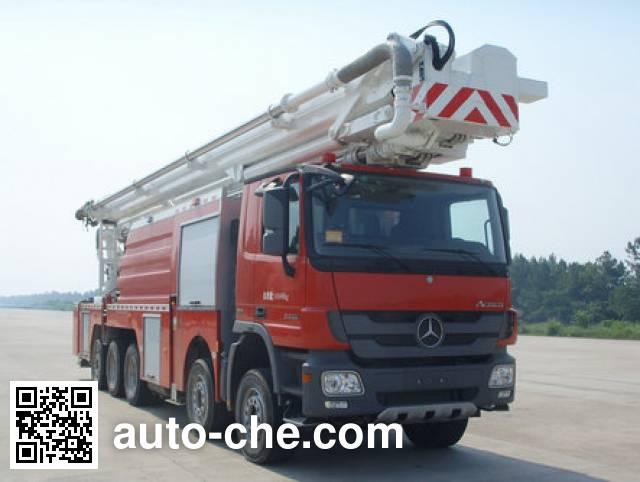 徐工牌XZJ5492JXFJP72/S1举高喷射消防车