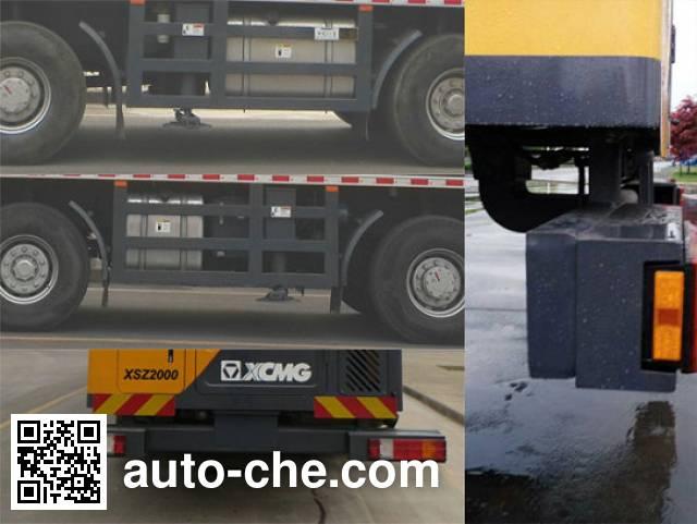 XCMG XZJ5520TZJ drilling rig vehicle