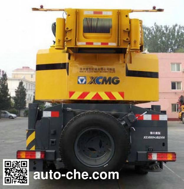 XCMG XZJ5554JQZ100 truck crane