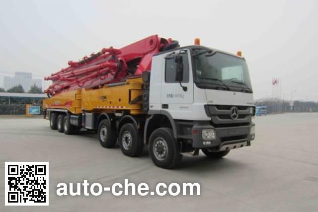 XCMG XZJ5640THBB concrete pump truck