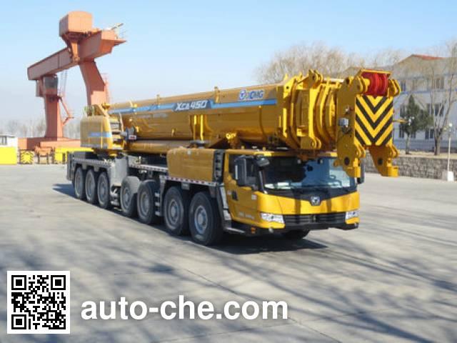 XCMG XZJ5845JQZ450 all terrain mobile crane