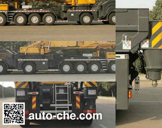 XCMG XZJ5940JQZ800 all terrain mobile crane