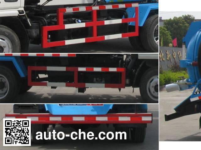 Zhongjie XZL5040GXW5 sewage suction truck