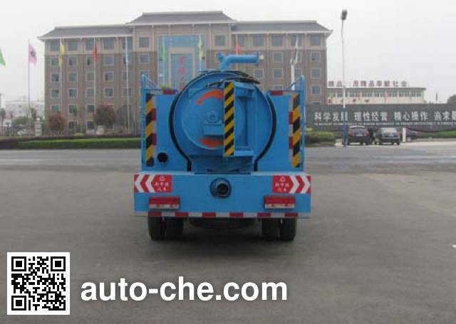 Zhongjie XZL5071GZXD4 biogas digester sewage suction truck