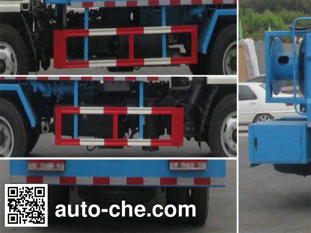 Zhongjie XZL5070GZX5 biogas digester sewage suction truck
