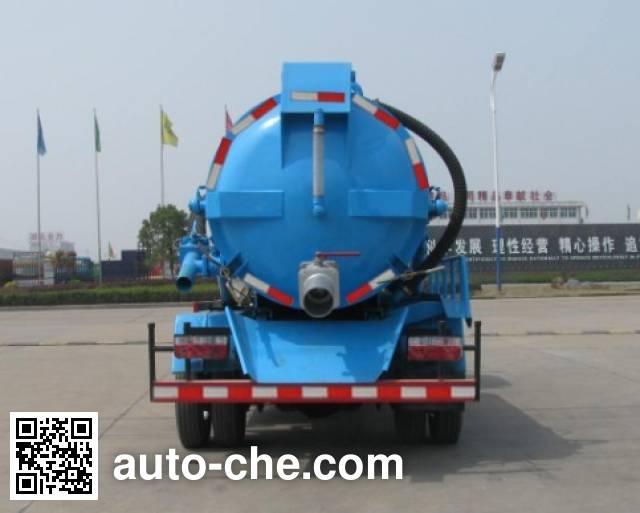 Zhongjie XZL5073GZX4 biogas digester sewage suction truck