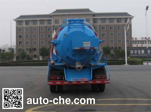 中洁牌XZL5110GQX5下水道疏通清洗车