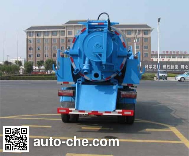 Zhongjie XZL5110GQX5E sewer flusher truck