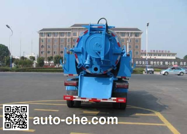 Zhongjie XZL5111GQX5 sewer flusher truck