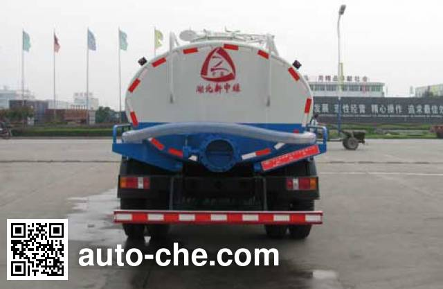 Zhongjie XZL5114GZX4 biogas digester sewage suction truck