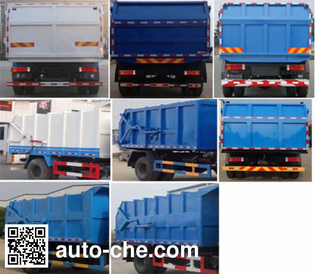 Zhongjie XZL5161ZDJ5 docking garbage compactor truck