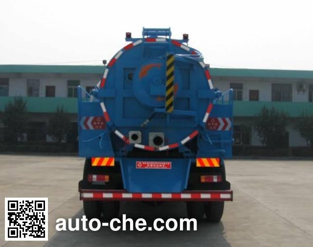 Zhongjie XZL5168GQX4 sewer flusher truck