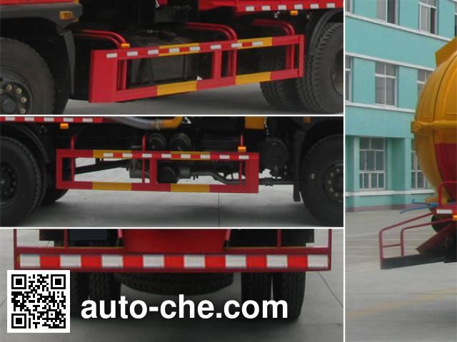 Zhongjie XZL5168GZX4 biogas digester sewage suction truck