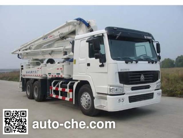 鑫天地重工牌XZQ5270THB-37混凝土泵车