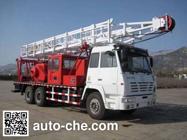 Sanhuan YA5240TXJ well-workover rig truck
