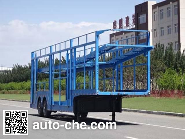 Zhengzheng YAJ9202TCC vehicle transport trailer
