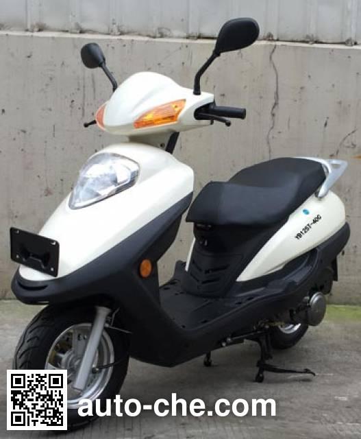乙本牌YB125T-40C踏板车
