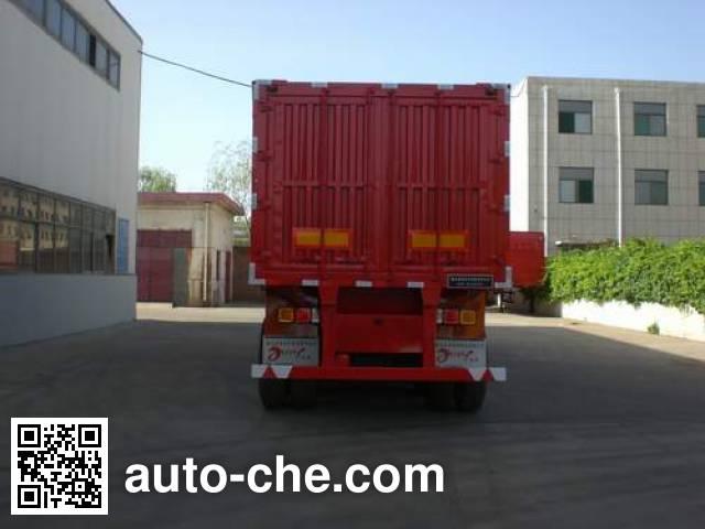 Yugong YCG9370XXY box body van trailer