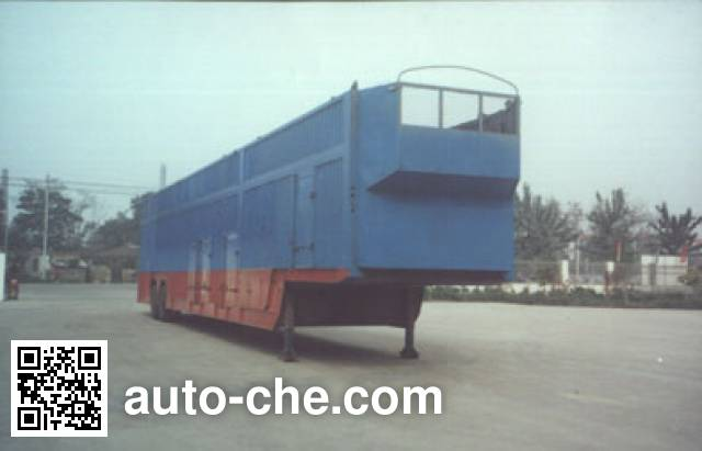 Yuchang YCH9161TCL vehicle transport trailer