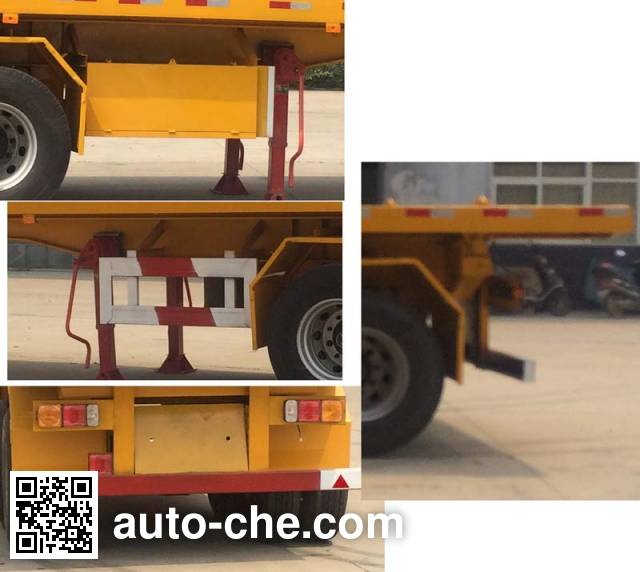 Yuchang YCH9351ZZXP flatbed dump trailer