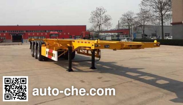 Yuchang YCH9400TJZ container transport trailer