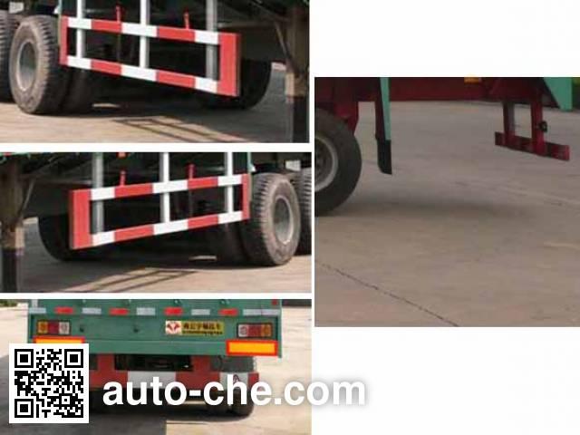 Yuchang YCH9400XXY box body van trailer