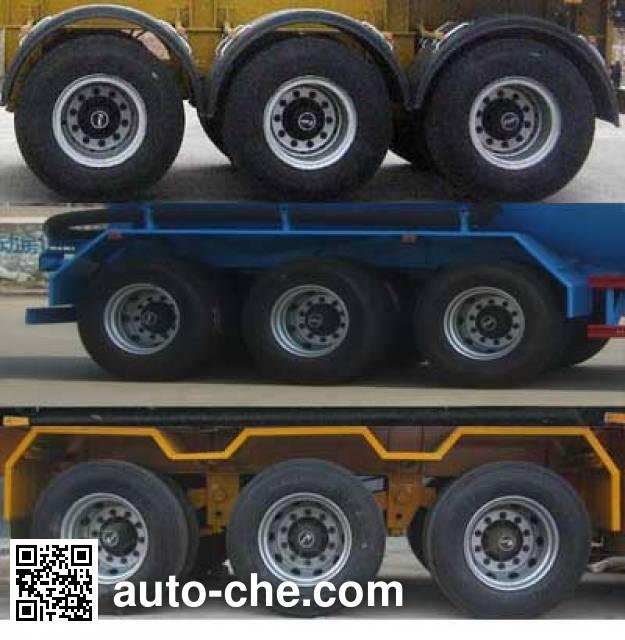 Yuchang YCH9401GFL medium density bulk powder transport trailer