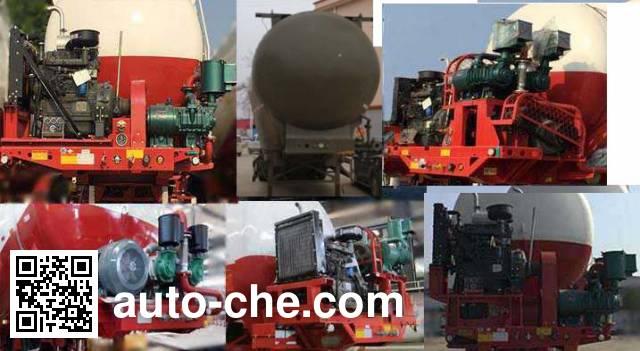 Yuchang YCH9401GXH ash transport trailer