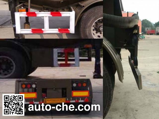 Yuchang YCH9402GXH ash transport trailer