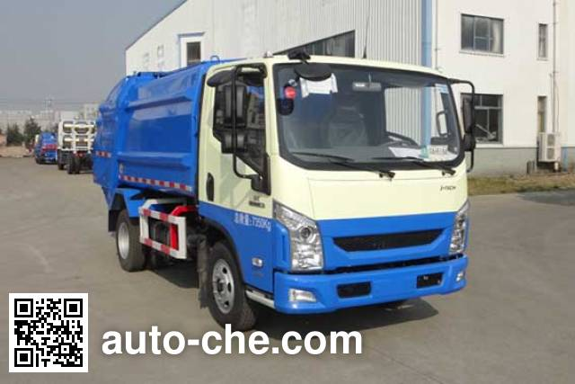Yueda YD5075ZYSNJE5 garbage compactor truck