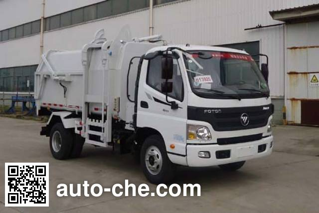 Yueda YD5085ZDJBJE5 docking garbage compactor truck
