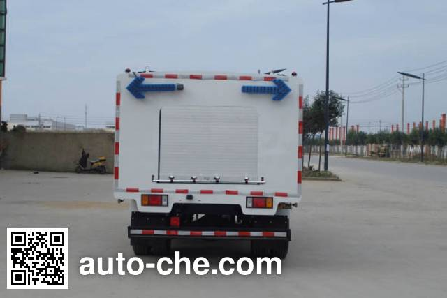 Yueda YD5100GQXQLE5 highway guardrail cleaner truck