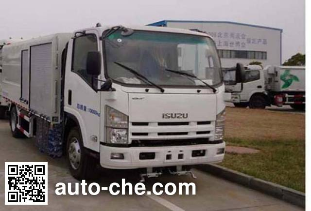 Yueda YD5101GQXQE4 highway guardrail cleaner truck