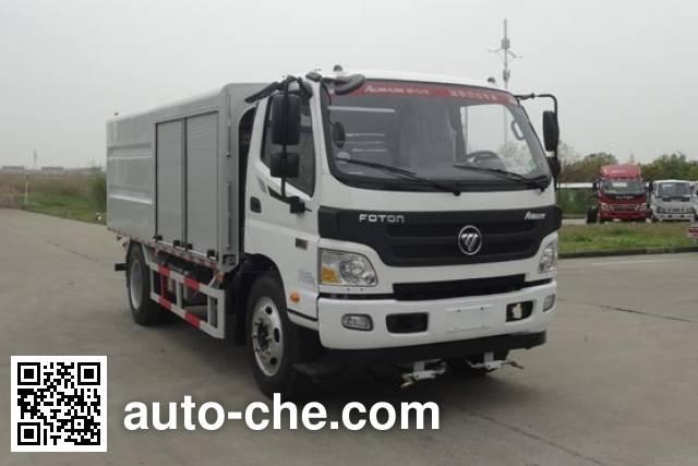Yueda YD5125GQXBJE6 highway guardrail cleaner truck