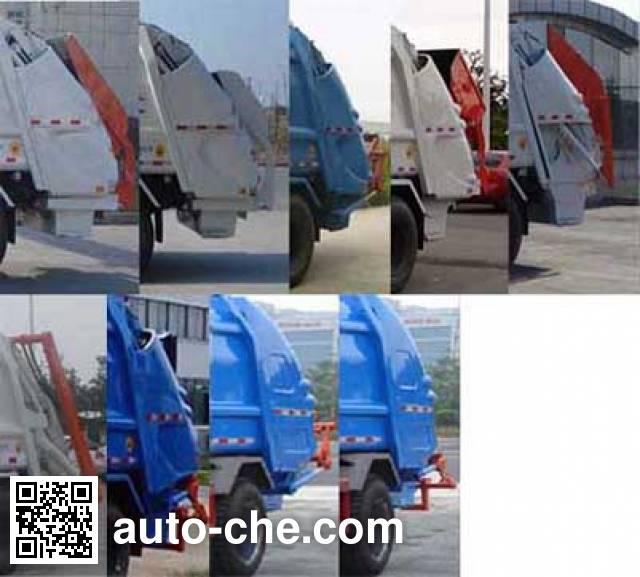 Yueda YD5125ZYSBJE4 garbage compactor truck