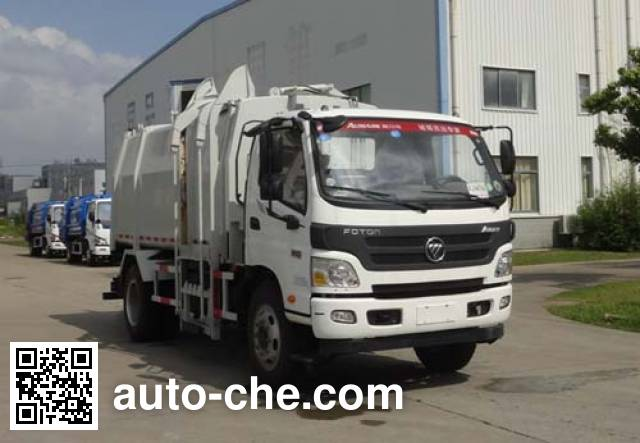 Yueda YD5125ZYSBJE6C garbage compactor truck