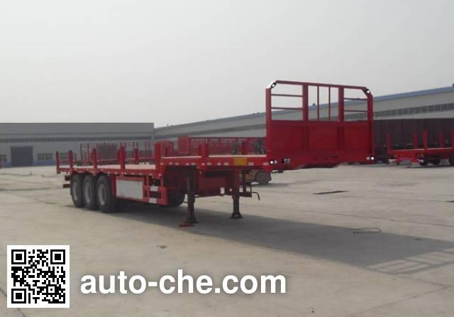 Yuandong Auto YDA9401TPB flatbed trailer