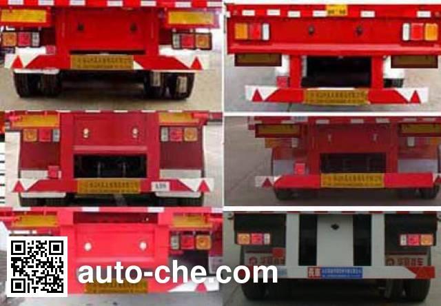 Yuandong Auto YDA9403TPB flatbed trailer
