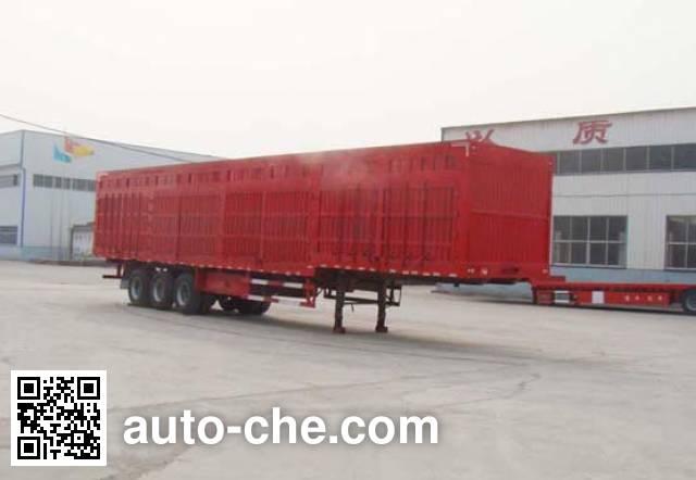 远东汽车牌YDA9403XXY厢式运输半挂车