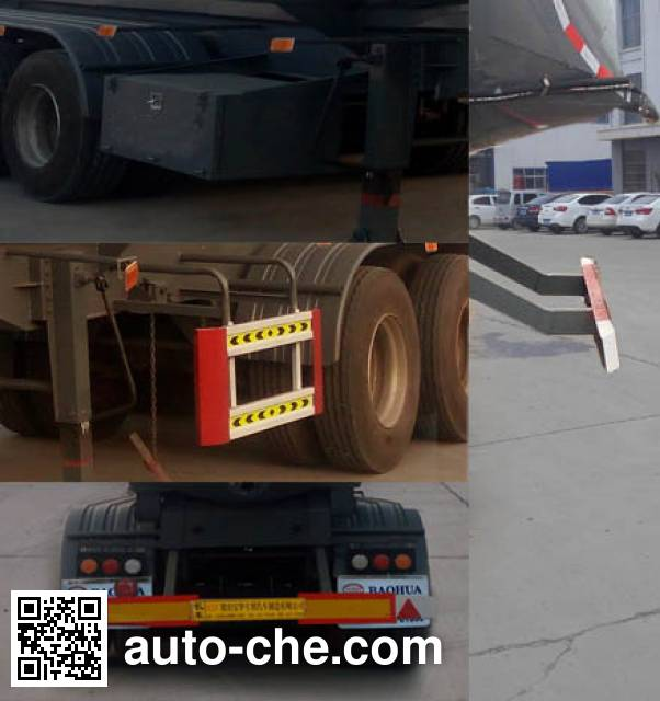 Zhongliang Baohua YDA9404GFL medium density bulk powder transport trailer