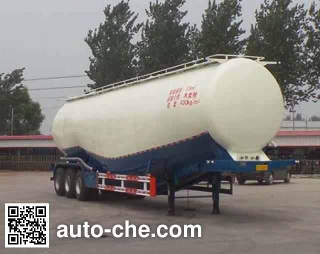 郓翔牌YDX9400GFL低密度粉粒物料运输半挂车