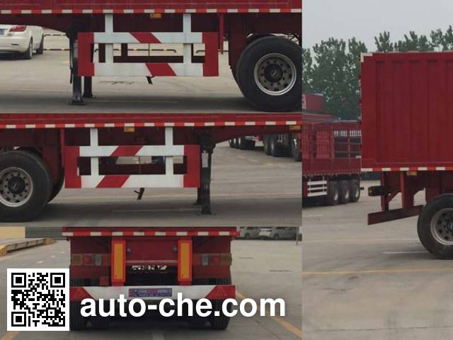 Yunxiang YDX9403XXY box body van trailer