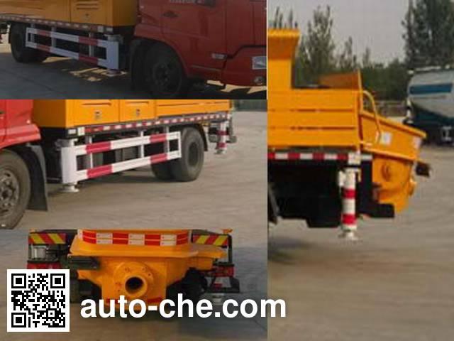 Linzhou YDZ5120THB concrete pump truck