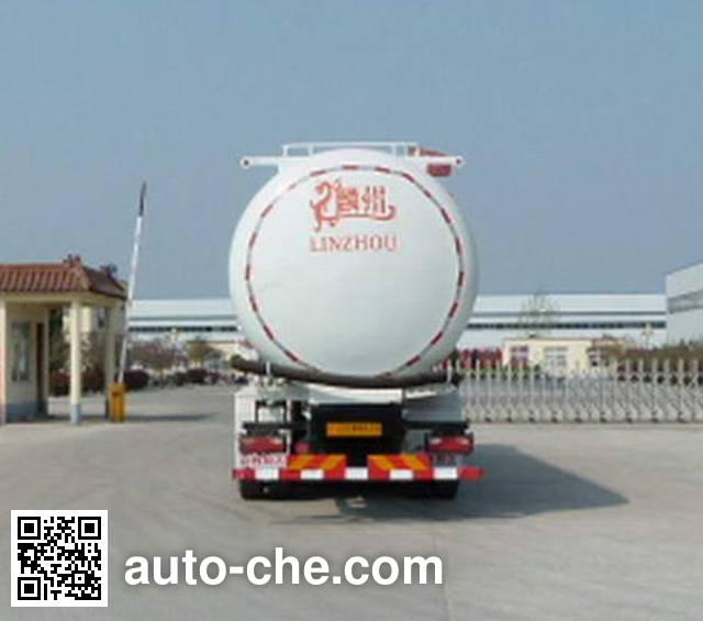 Linzhou YDZ5251GGH0L4 dry mortar transport truck
