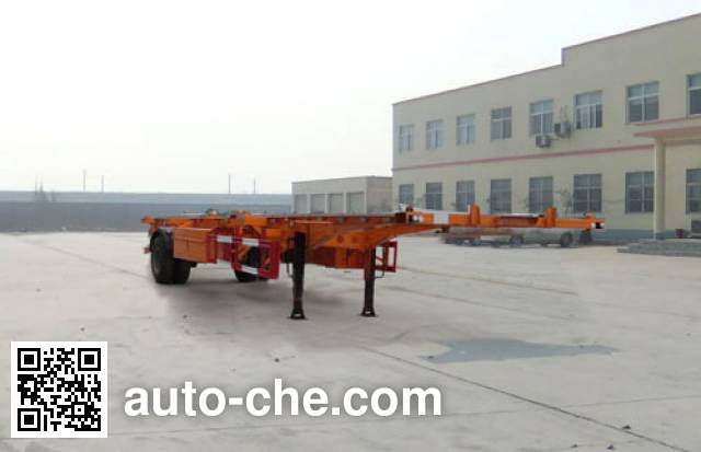 Linzhou YDZ9150TJZ empty container transport trailer