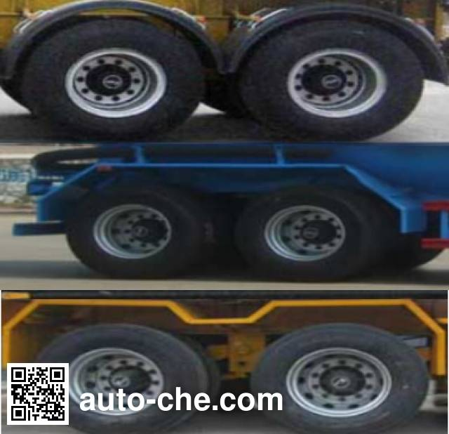 Linzhou YDZ9350GXH ash transport trailer