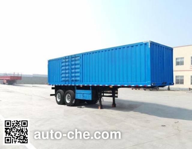 Linzhou YDZ9350XXY box body van trailer