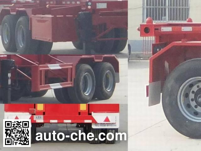 Linzhou YDZ9351TJZ container transport trailer