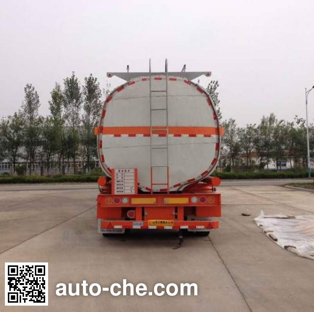 Linzhou YDZ9400GYS liquid food transport tank trailer